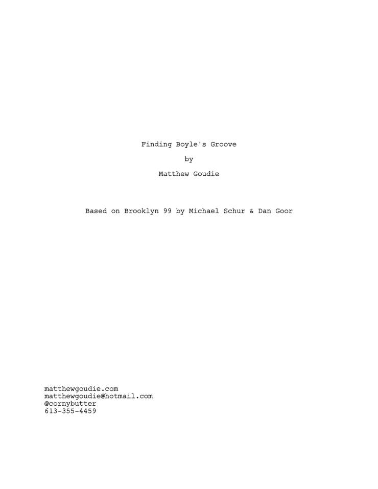 Brooklyn 99 Full Script-01