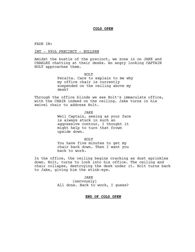 Brooklyn 99 Full Script-02