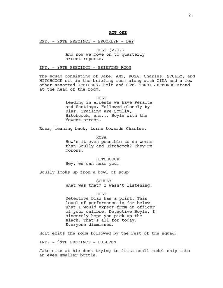 Brooklyn 99 Full Script-03