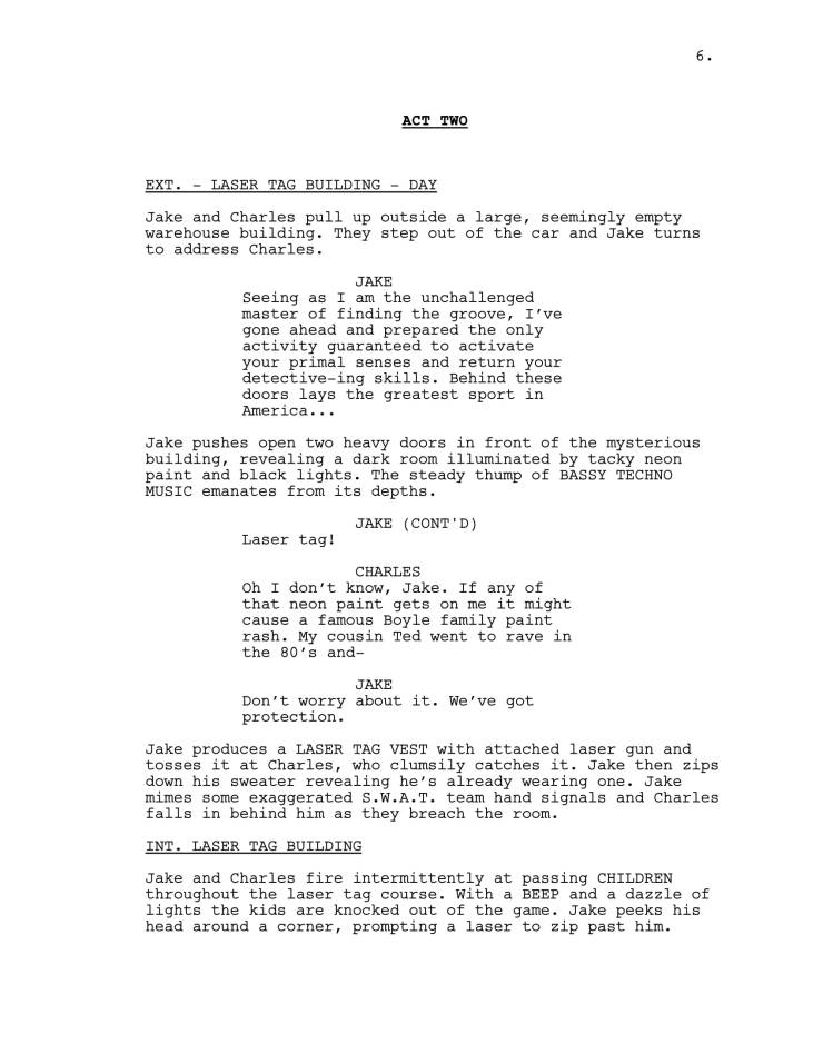 Brooklyn 99 Full Script-07