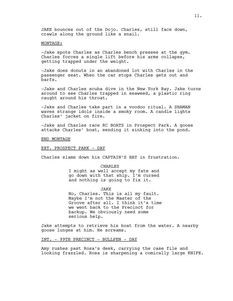 Brooklyn 99 Full Script-12