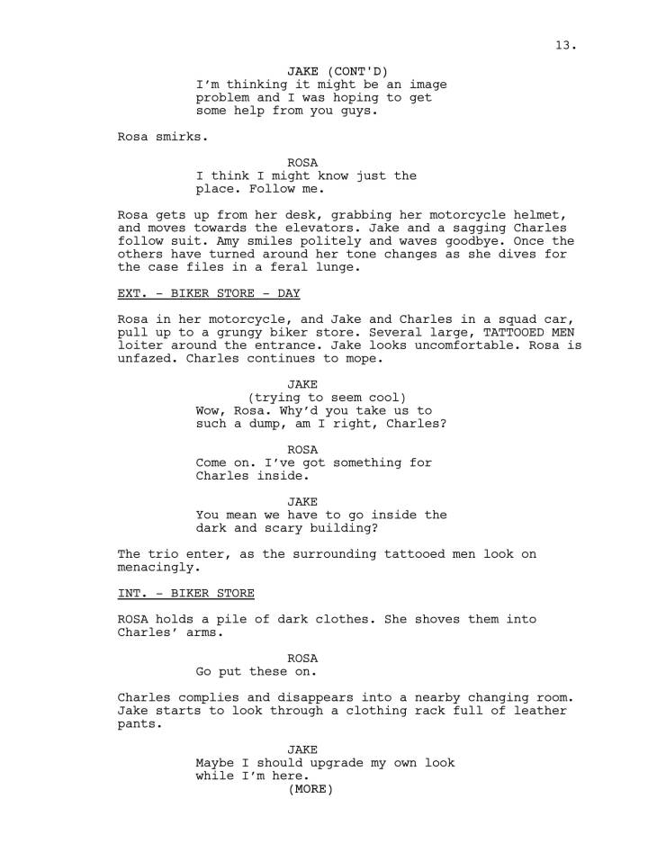 Brooklyn 99 Full Script-14