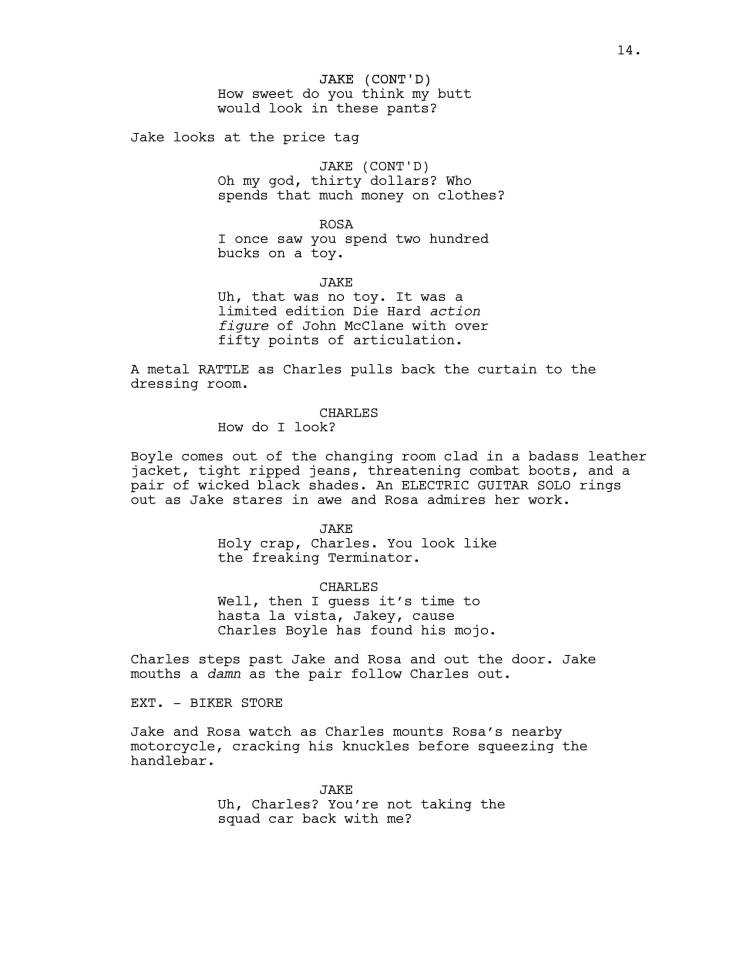 Brooklyn 99 Full Script-15
