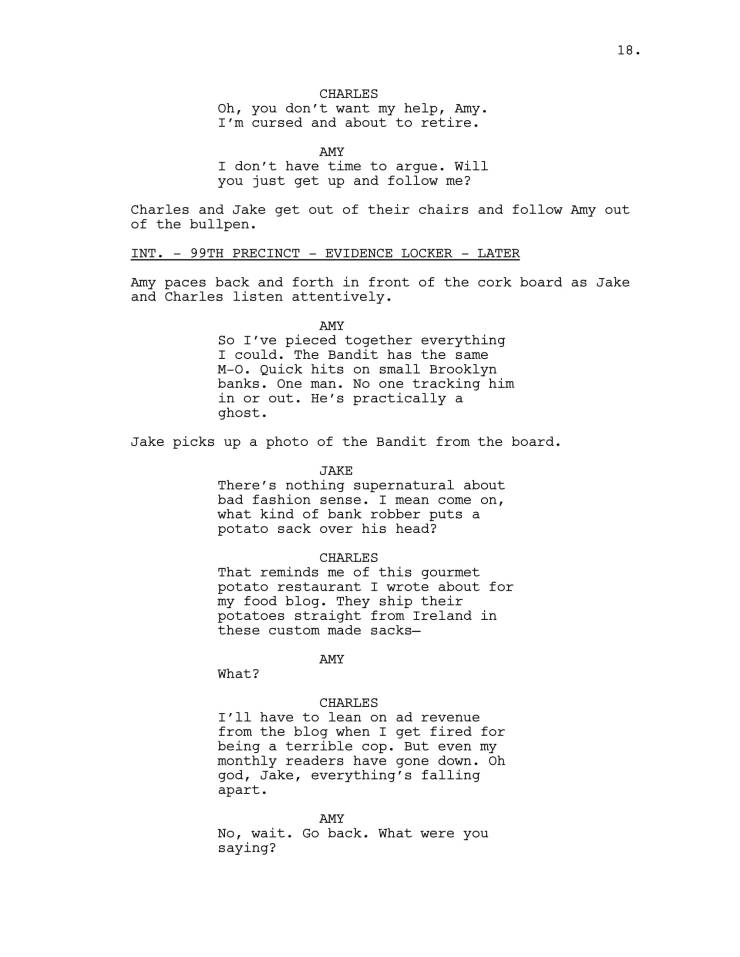 Brooklyn 99 Full Script-19