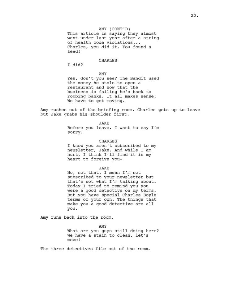 Brooklyn 99 Full Script-21