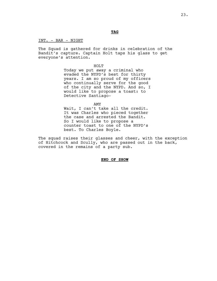 Brooklyn 99 Full Script-24