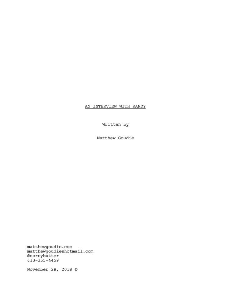 mg short film second draft-1